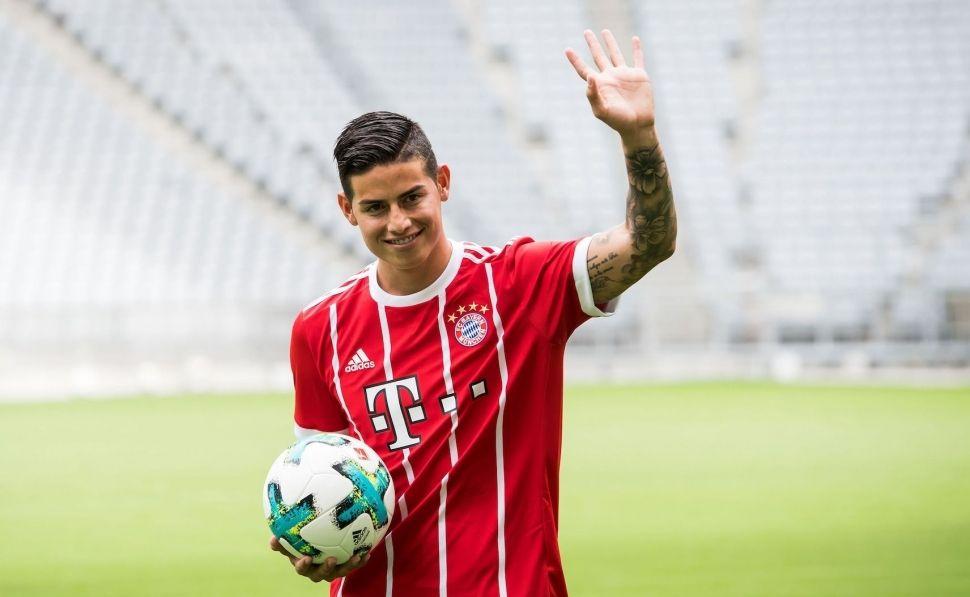 El jugador del Bayern de Munich James Rodríguez lanza su criptomoneda para impulsar su valor de marca