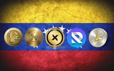 Las 8 criptomonedas venezolanas